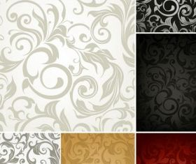 fine pattern background 04 vector graphics