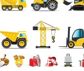 builders icon vectors graphic