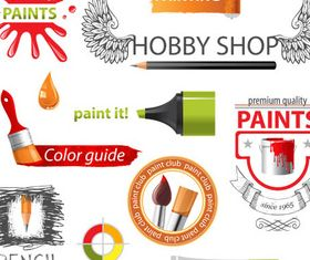 Creative Painting Logo vector graphic