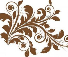 Floral Design Element vector design