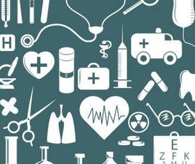 simple medical icon vector