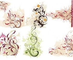 Swirl Flower vector graphics