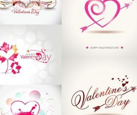 romantic valentine day graphics design vector
