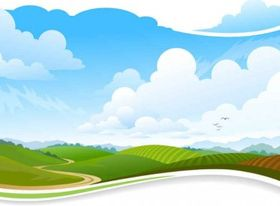 scenery background vectors