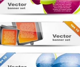 fashion glossy banner vector