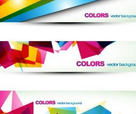 beautiful pattern banner 06 vectors