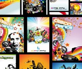 music style pictures vector