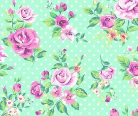 Romantic Rose pattern vector
