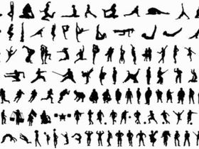 Body Silhouettes Free vector