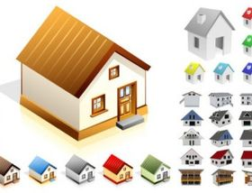 Small house vector