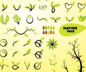 Nature Vector Art Graphics material