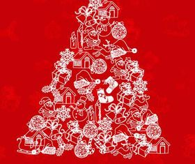 Christmas Backgrounds 1 vectors graphics