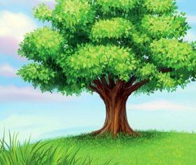 tree vectors material
