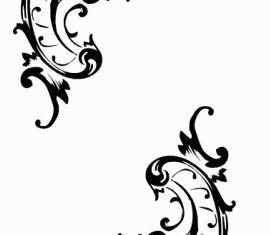 Tattoo Decorative Pattern clip art shiny vector