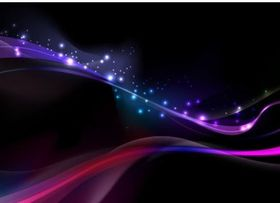 Abstract Glowing Background vector graphics
