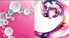 bstract Style Backgrounds 38 vector