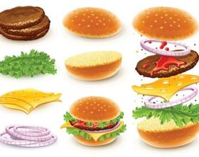 fast food 01 vector graphics