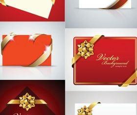 beautiful holiday card vectors