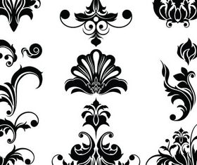 Floral Ornaments Elements 3 vector