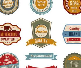 Shiny Products Stickers vectors