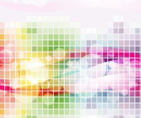 Abstract background graphic set vector