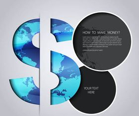 Stylish Financial Backgrounds vector