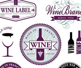 Wine Vintage Labels vectors