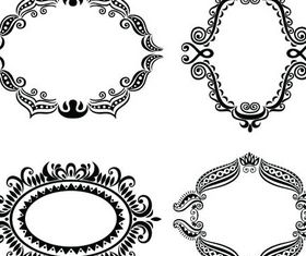 Decorative Vintage Frames vector
