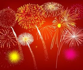 Fireworks Free vector