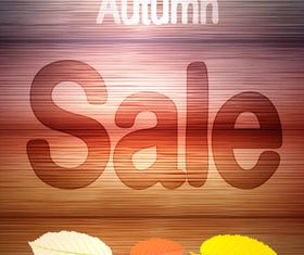 Autumn Sale Backgrounds vector