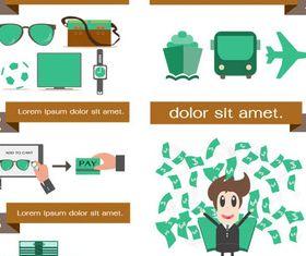 E-commerce Set vector graphics