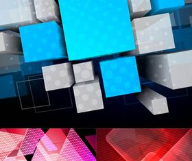 Abstract Style Backgrounds Vectors