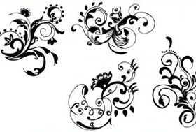 Hand Drawn Floral vectors