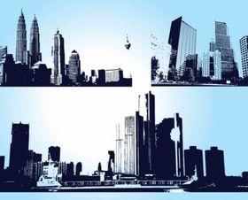 Skyscraper City Graphics design vector