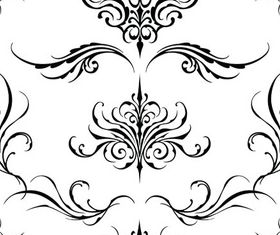 Ornament Borders Elements 15 vector set
