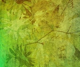 Green grunge background vectors material