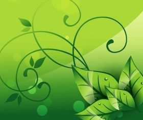 Elegant Nature Background art vector graphics
