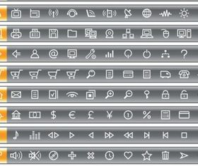 simple and practical icon vector set