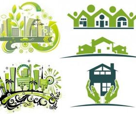 green house vector graphics
