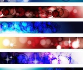Abstract Banner vectors graphics