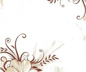 Flower Background art vectors