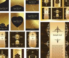 gorgeous layout design pattern vector