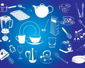 Kitchen Graphics vector