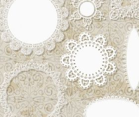 lace pattern lace 02 vector