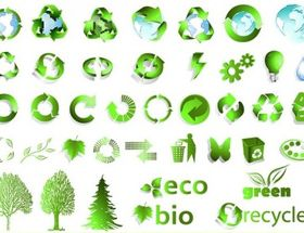 logo recyclable vector graphics