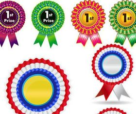Shiny Award Ribbons vector