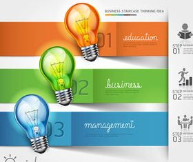 Business Ideas Backgrounds 2 vector graphics