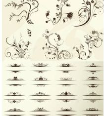 european pattern vector graphics