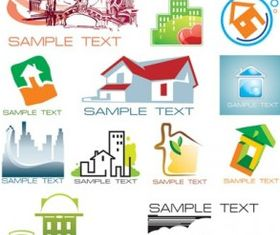 pattern house subject vector
