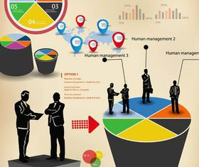 Business Infographics Elements 3 creative vector